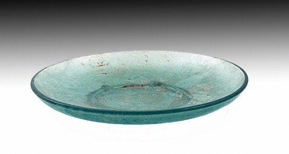 85F: A  Late Roman to Byzantine Glass Plate