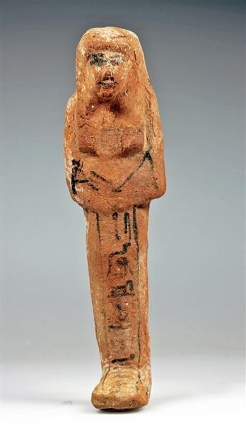 9: An Egyptian Terracotta Shabti