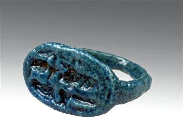 10: An Egyptian Glazed Ring