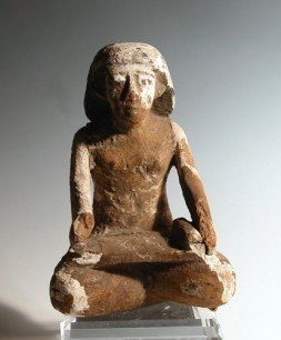 44: An Important Egyptian Wooden Scribe