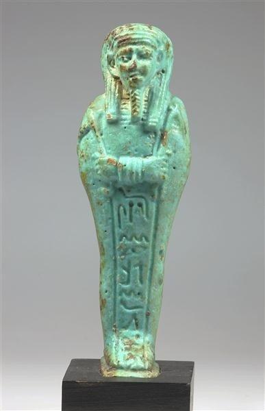 49: An Egyptian Ushabti, Ptolemaic Period