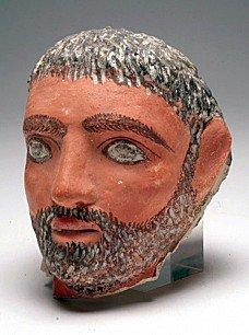 A Romano-Egyptian Plaster Head, Ex-Sotheby's