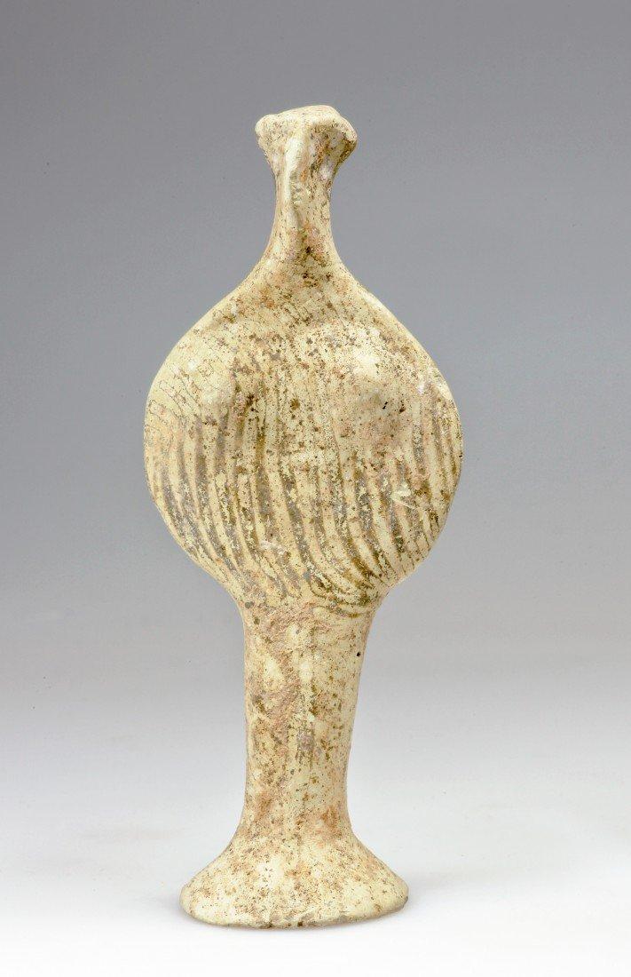 59: A Greek Mycenaean Terracotta Phi Figure