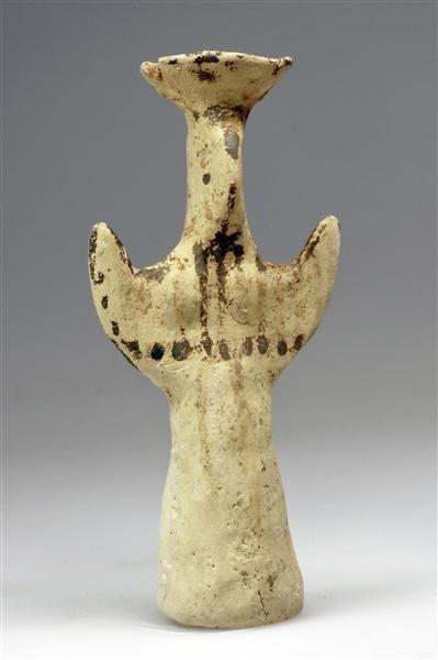 60: A Greek Mycenaean Psi Type Terracotta Female