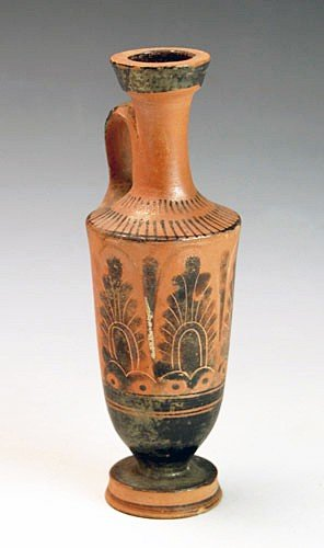 68: A Greek Attic Black Figure Lekythos