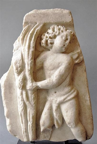 98: A Roman Marble Fragment