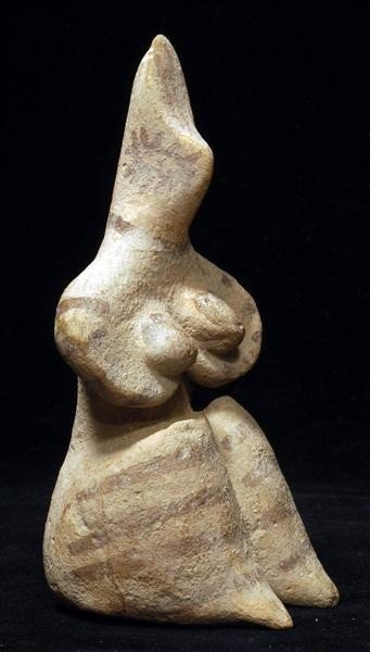 102: A Tel Halaf Terracotta Mother Goddess