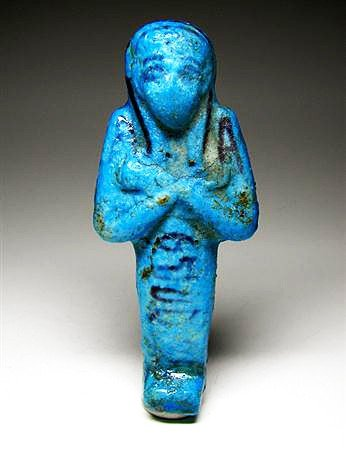 20A: An Egyptian Blue Ushabti for Tashedkhonshu