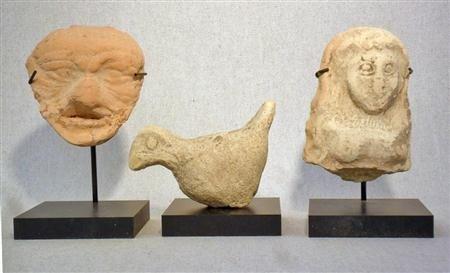 102D: An Interesting Lot Three Mesopotamian Terracottas