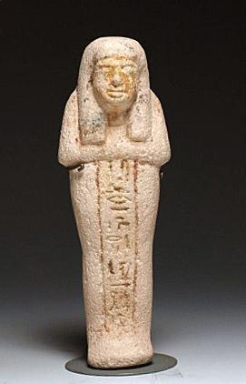 5: An Egyptian Limestone Ushabti for Iry