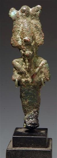 6: An Egyptian Bronze Osiris