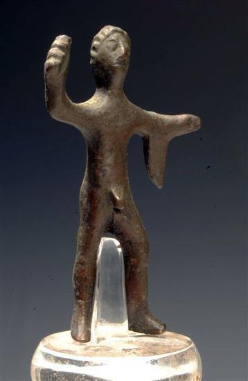 25: An Etruscan Bronze Votive Heraklese