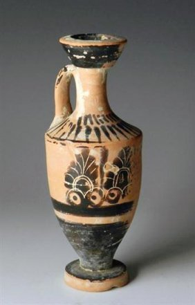 A Greek Attic Black-Figure Lekythos