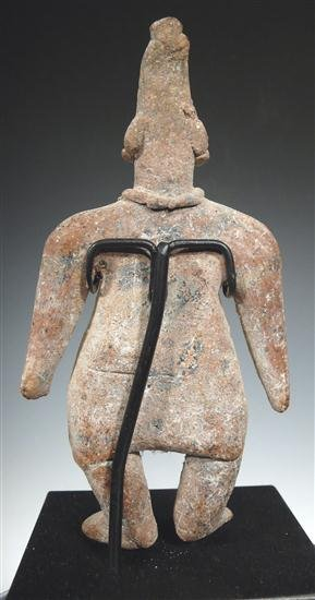 120: A Colima Standing Gingerbread Figure - 3