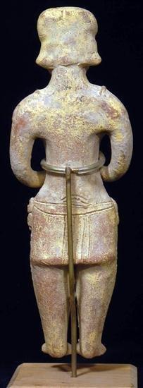 121: A Colima Autlan Effigy Standing Figure - 4