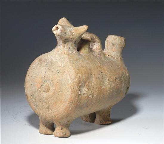 51A: An Iranian Pottery Askos - 4