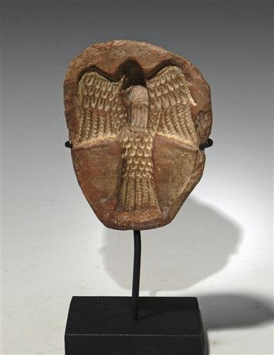 16: An Egyptian Terracotta Mold (for making amulets)