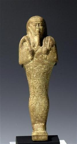 16: An Egyptian  Faience Ushabti