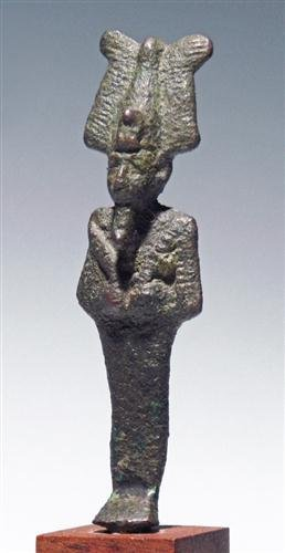 18: An Egyptian Bronze Figure of Osirus, ex-Ede