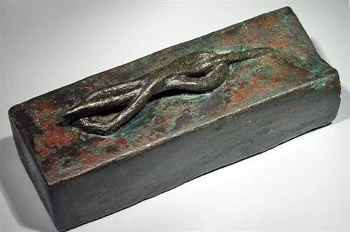 20: Egyptian Bronze Sarcophagus for Snake ex-Christie's - 2