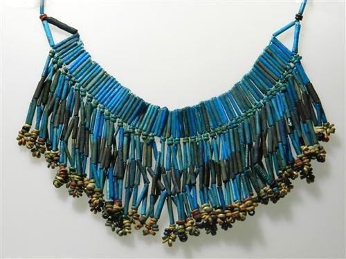 25: An Egyptian Faience Beaded Necklace