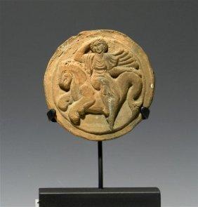 52A: A South Italic Greek Terracotta Rondel