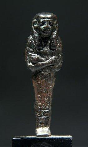 3: An Egyptian Royal Shabti for Pharaoh Psusennes I