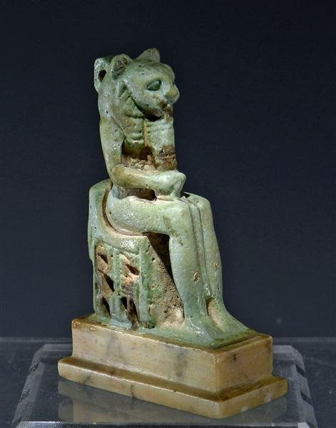 5: An Egyptian Faience Amulet of Sekhmet