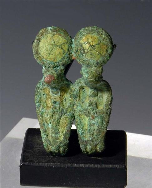 12A: An Egyptian Bronze Double Uraeus