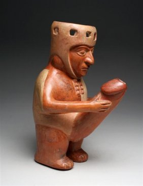13: A Humourous Moche Erotic Drinking Vessel
