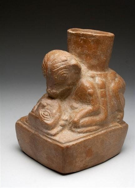 21: A Moche / Huari Transitional Erotic Vessel