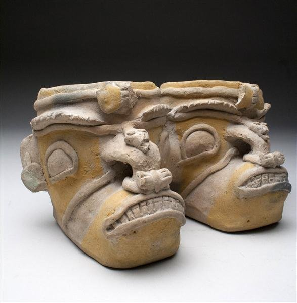 34: A Miniature Jamacoaque Double-Headed Jar