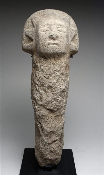 43: A Mayan Stone Boundary Marker