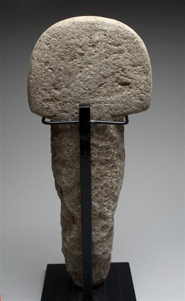 43: A Mayan Stone Boundary Marker - 2