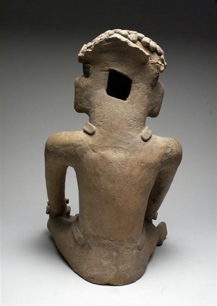 44: A Veracruz Seated Figure, ex-Denver Art Museum - 4