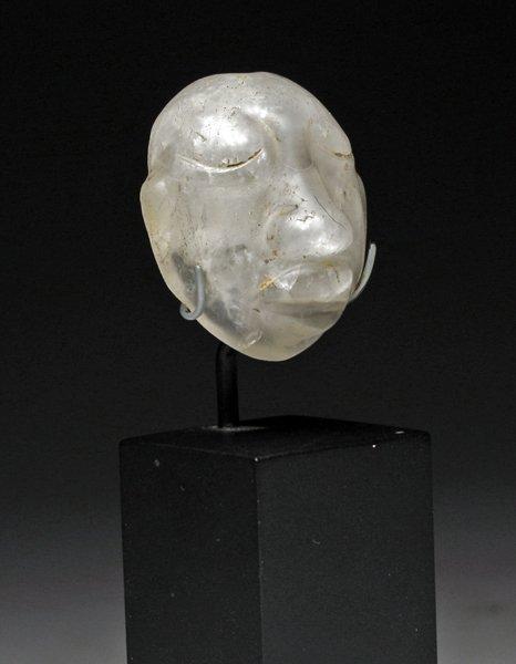 114: A Pre-Columbian Olmec Crystal Head