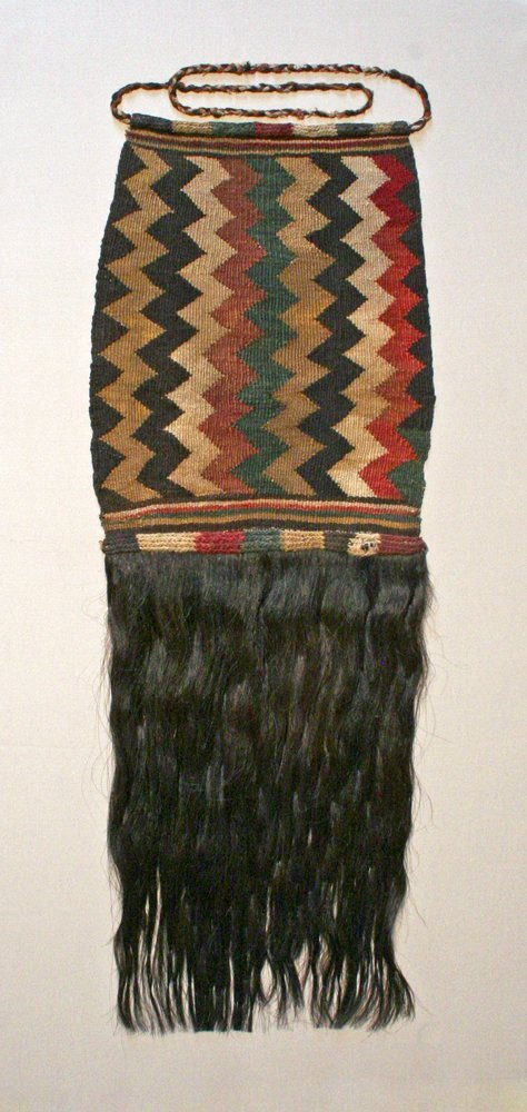 1C: A Proto-Nazca Textile Apron with Hair Fringe