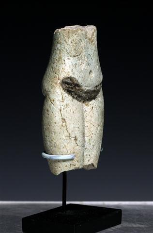 An Egyptian Faience Torso of a Concubine - 2