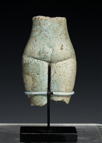 An Egyptian Faience Torso of a Concubine - 3