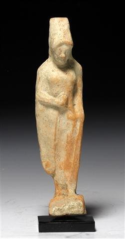 An Archaic Greek Kore Figure