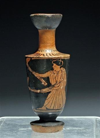 A Greek Red Figure Lekythos