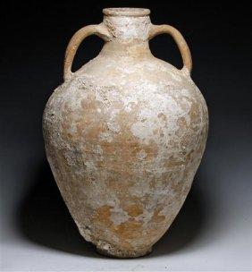A Late Greek Terracotta Pithos