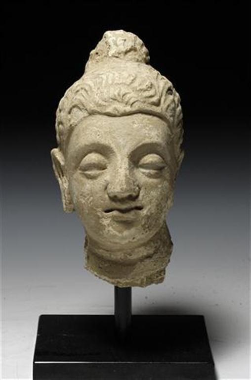 A Large Gandharan Buddha Head - 2