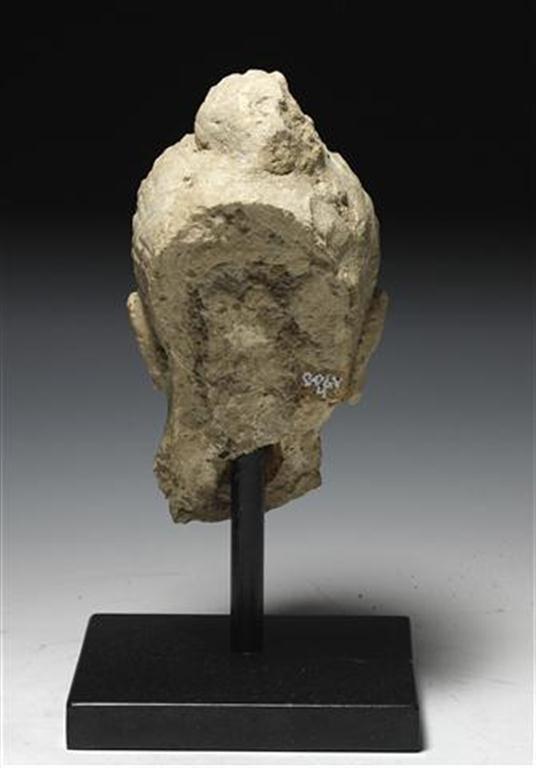 A Large Gandharan Buddha Head - 3