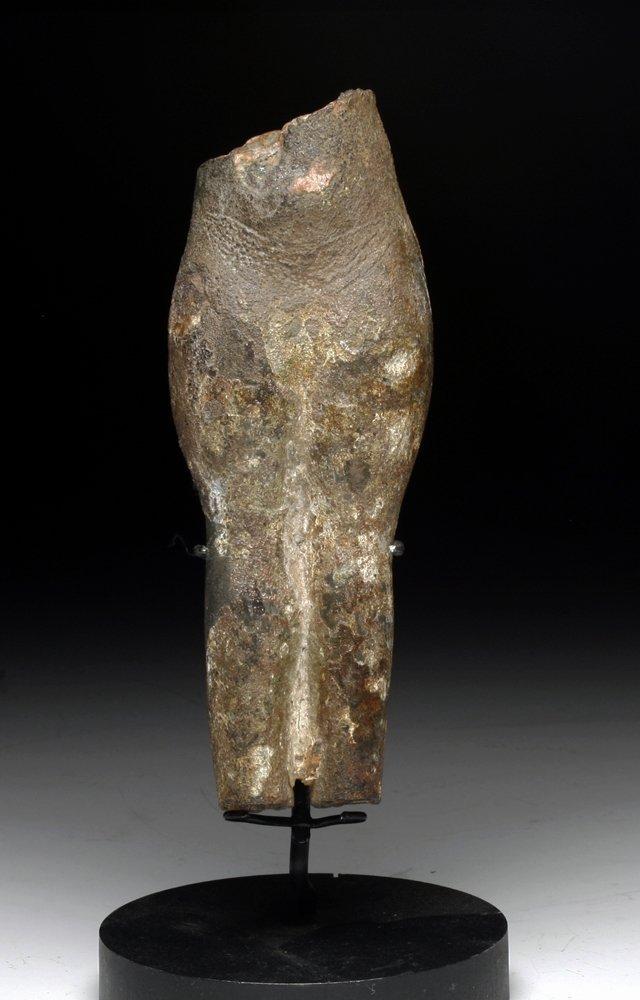 An Egyptian Bronze Torso of a Concubine
