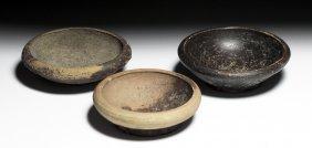 3 Greek Greek / Magna Graecia Salt Dishes - Published!