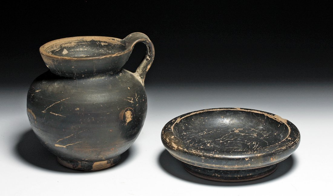 A Greek Salt Dish and Olpe - Published!
