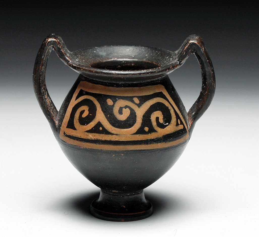 A Greek Xenonware Miniature Amphora