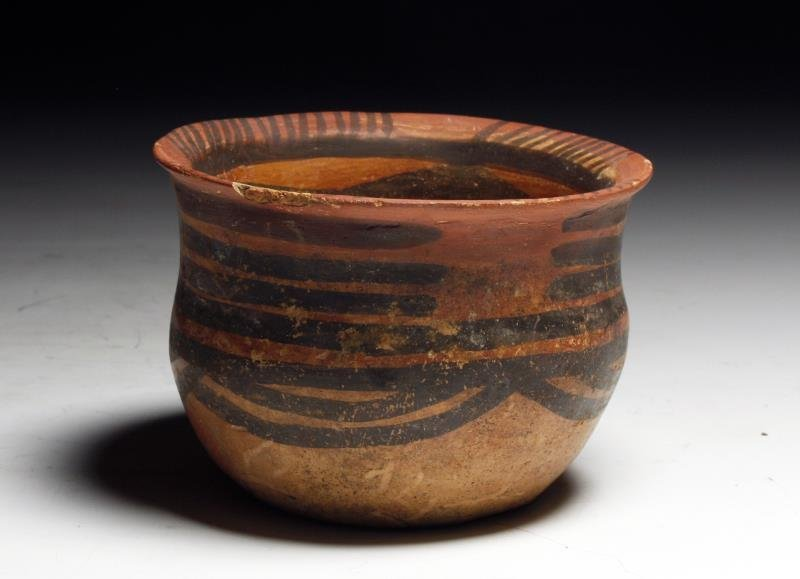 Chinese Neolithic Painted Jar - 2nd Millennium BCE