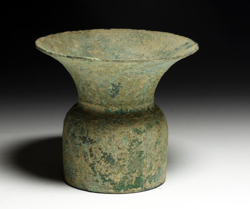 Ancient Ban Chiang Bronze Vase